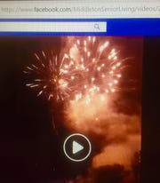 A  July 2 Middleton Senior Living fireworks display issued a Village permit was more spectacular than organizers or officials had bargained for. The display was live-streamed to Facebook by Middleton.