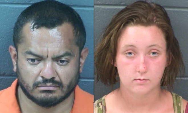 Jesse Rayos, 36, and Gianna Shreve, 18