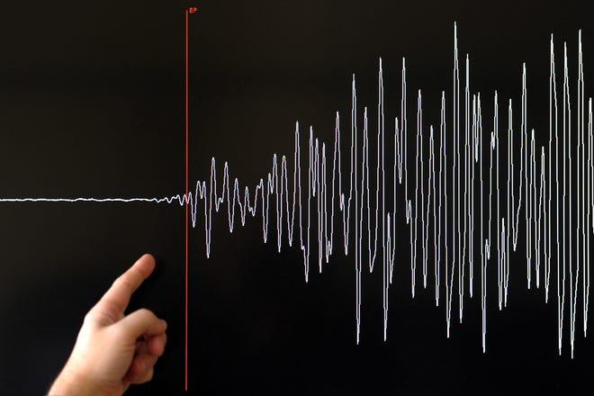 An earthquake shook the Coachella Valley Monday evening.