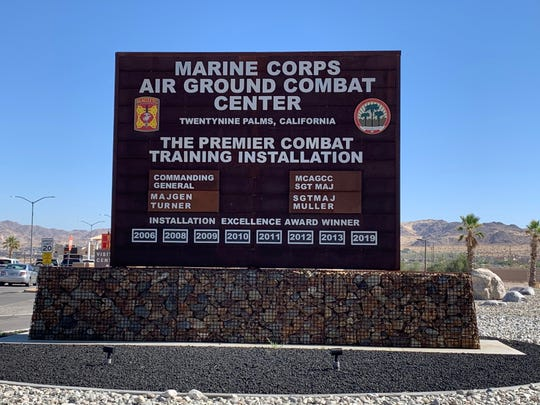 "A suspect was ""cordoned off"" at the Marine Corps Air Ground Combat Center at Twentynine Palms, Calif., after reports of an active shooter on the base, according to Capt. Nicole Plymale on July 7."
