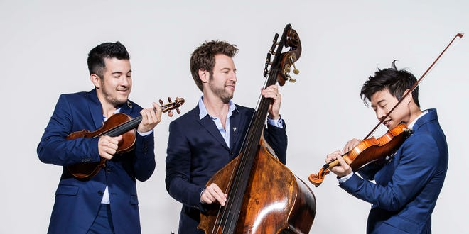A return engagement of the string trio, Time for Three, is back by popular demand on Feb. 14 after closing the TSO 2014 season to thunderous applause.