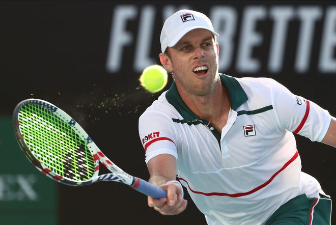 Sam Querrey of Thousand Oaks played in front of fans at the All-American Team Cup near Atlanta, with one player, Francis Tiafoe, testing positive for coronavirus after their match.