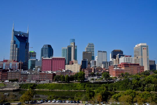 A view of the Nashville skyline.