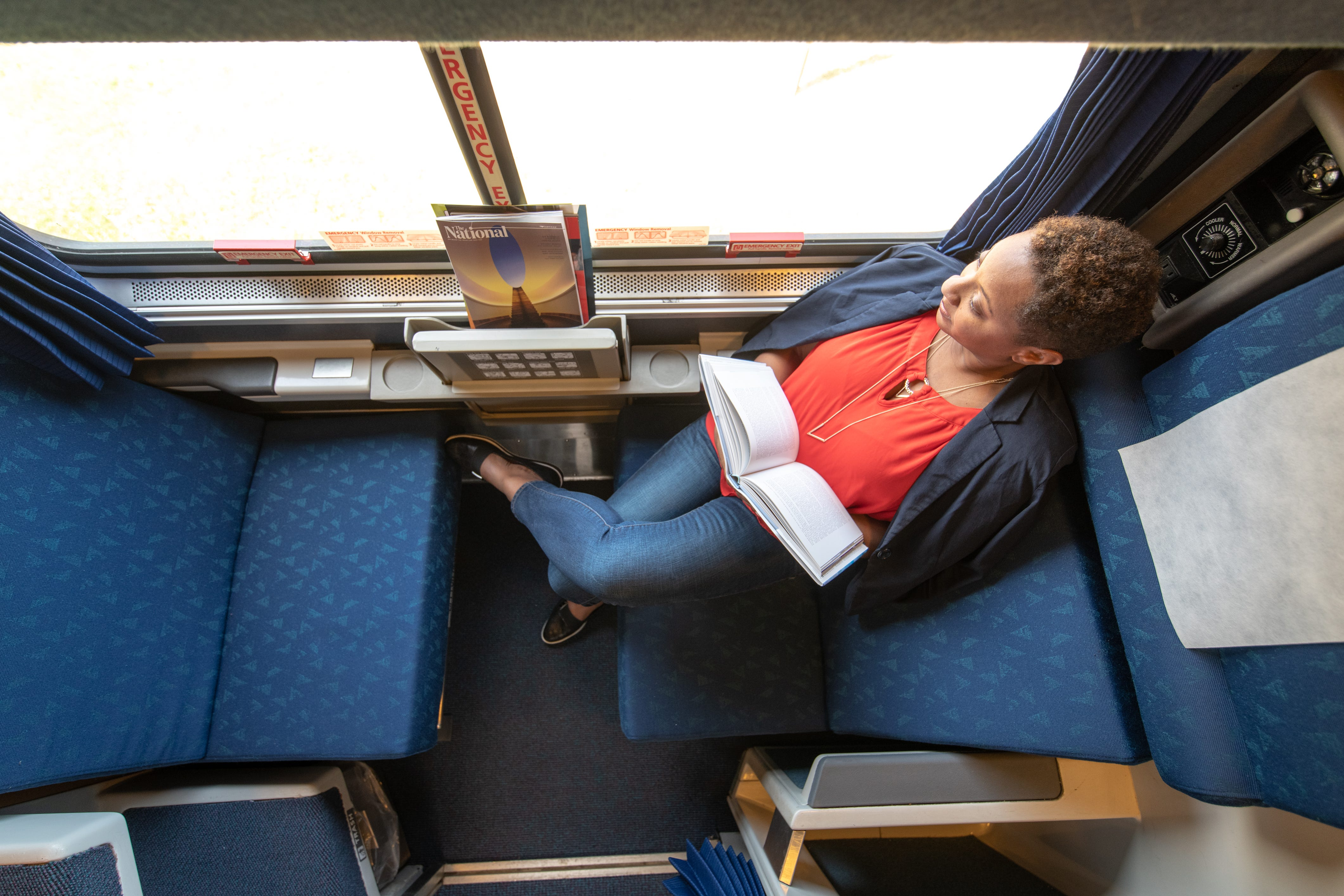 Traveling During Covid Amtrak Offers Sleeper Train Roomette Discount