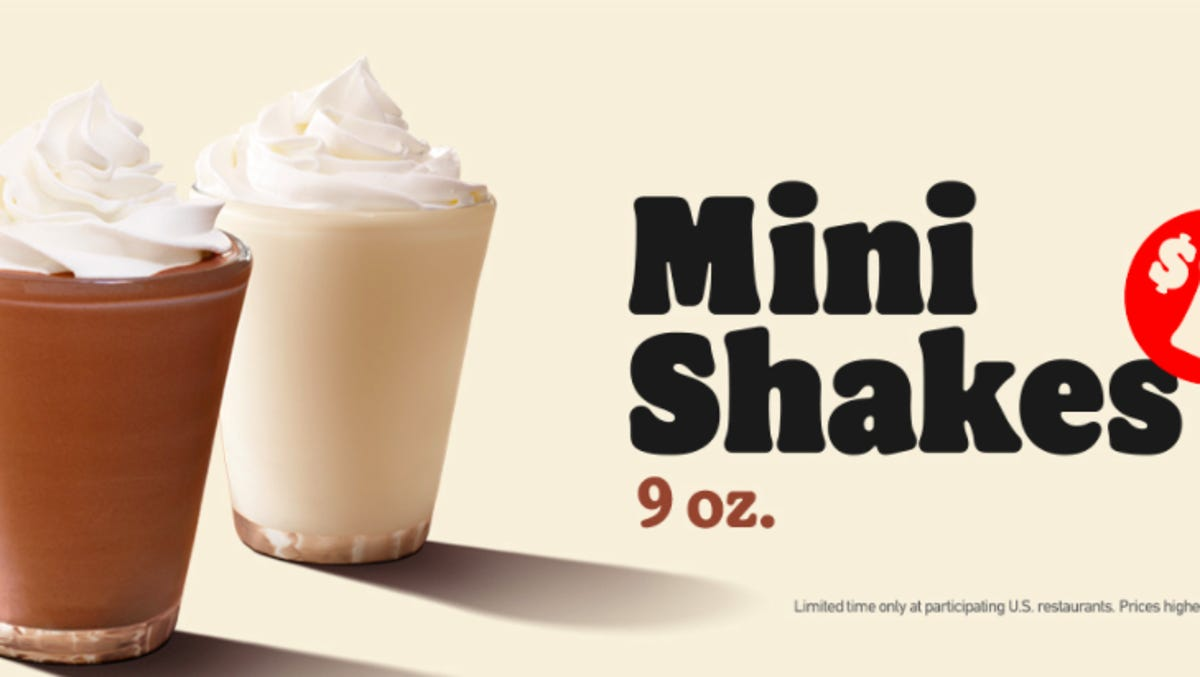 Burger King Quietly Released 1 Mini Shakes