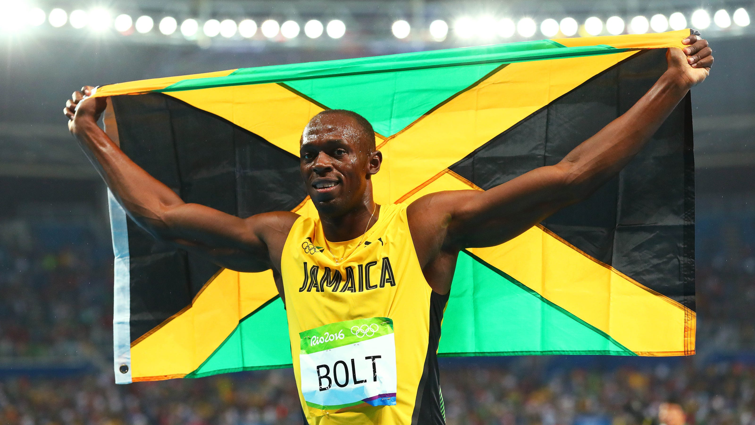 Nearly two months after their daughter was born, Usain Bolt and his girlfriend Kasi Bennett have finally publicly revealed her name: Olympia Lightning