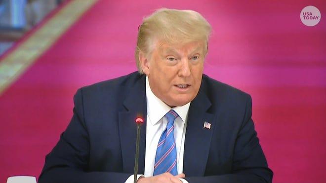 Trump Pledges To 'Pressure' Governors To Reopen Schools Despite Health Concerns Amid Coronavirus Surge