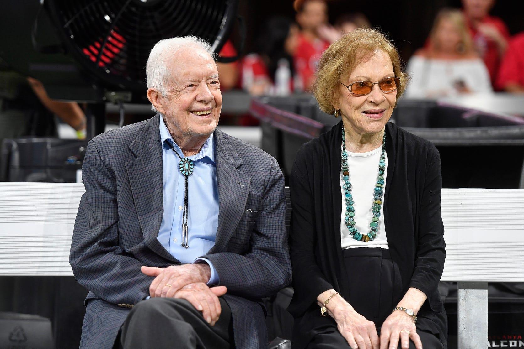 Jimmy and Rosalynn Carter, longest-married presidential couple, celebrate 74th anniversary