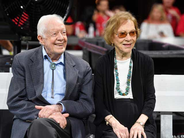 Jimmy And Rosalynn Carter Celebrate Record Breaking 74th Anniversary
