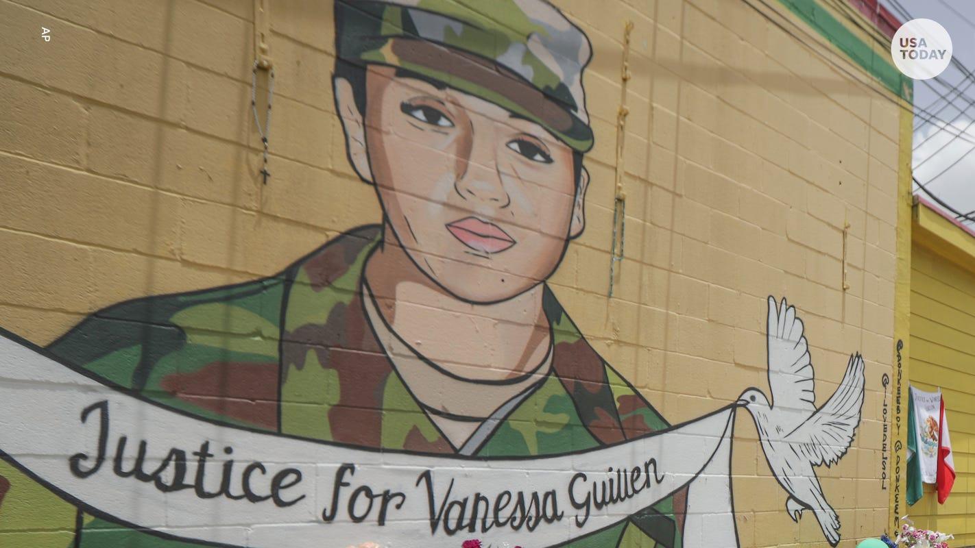 'My heart is just breaking': Waukee mother of 2 Latina U.S. soliders mourns murdered Fort Hood soldier Vanessa Guillen at vigil