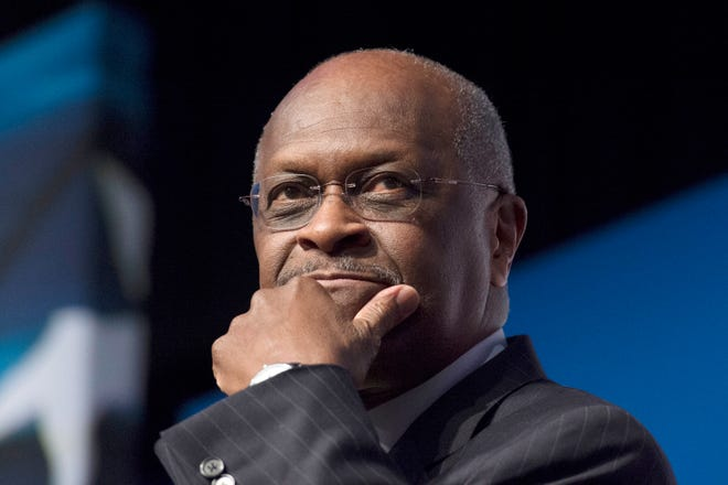 Former presidential candidate and Trump supporter Herman Cain