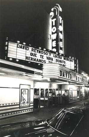 "After United Artists sold Corpus Christi's Tower Theater in 1969, the theater began showing mainly Spanish language films from Mexico. In November 1978, the theater was showing ""Que te vaya bonito"" starring David Reynoso and Lucha Moreno and ""Hermanos de Sangre."""