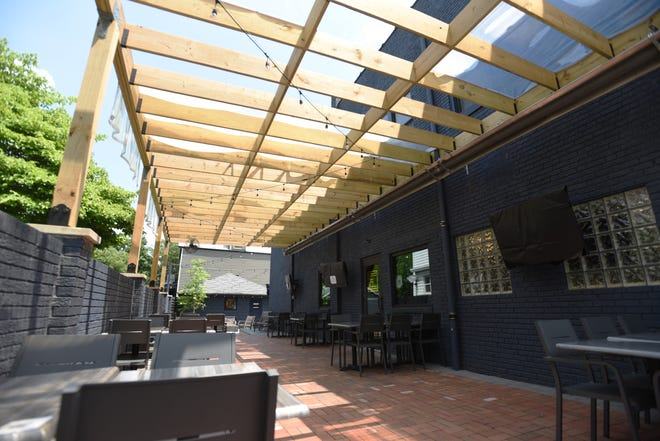 Oakley's Establishment has had to reduce their patio hours due to noise complaints about their outdoor televisions. All TVs are now covered on the patio.
