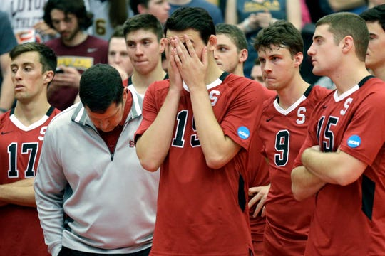 Men's volleyball is among the 11 sports Stanford will be dropping after the 2020-21 academic year.