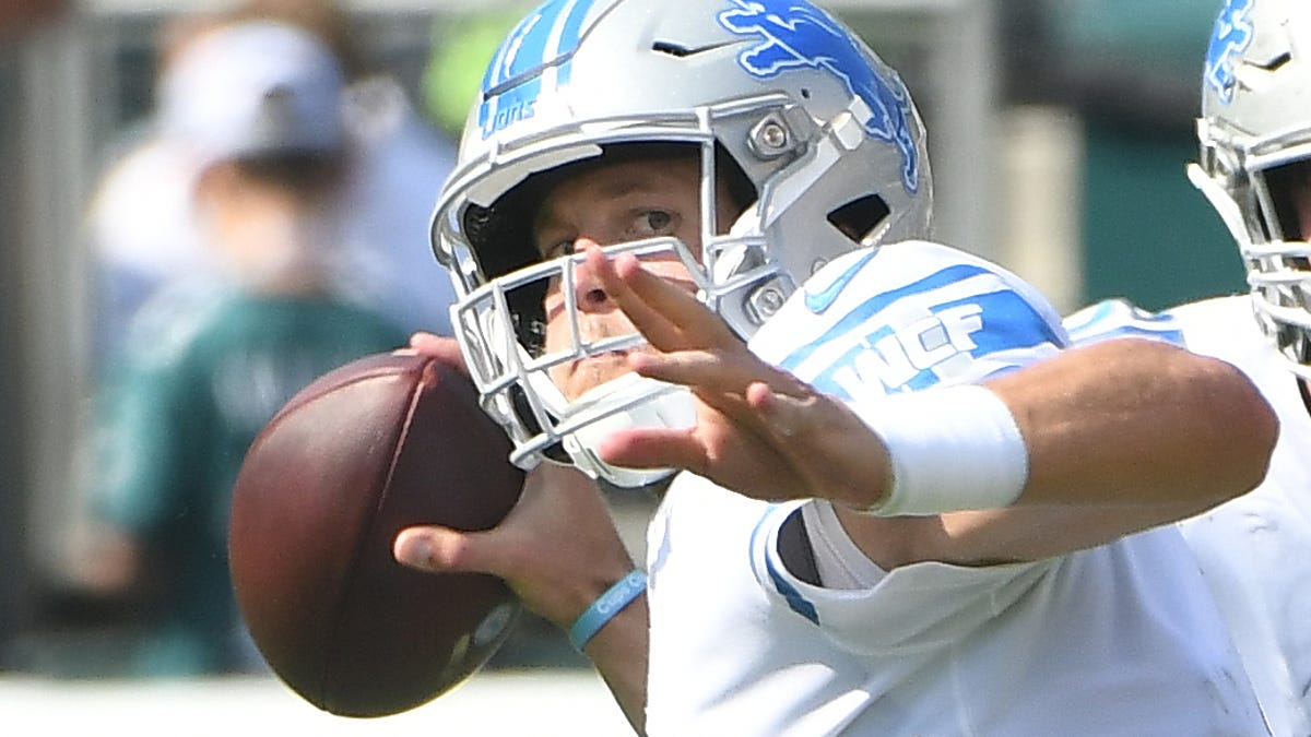 Lions Matthew Stafford Had False Positive Test For Covid 19 Is Not Infected