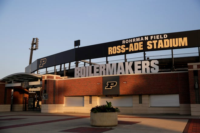 Purdue University's Ross-Ade Stadium and Rohrman Field, Thursday, July 2, 2020, in West Lafayette.