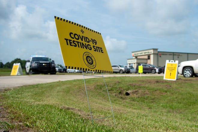 Free Drive thru Covid-19 testing hosted by Crescent Safety Services in partnership with Lafayette General Health -8311 US-90 E, Broussard, LA.   Wednesday, July 8, 2020.
