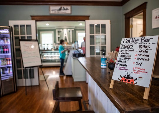 Inside the LadyBugg Bakery in Hernando, Miss., on Wednesday, July 8, 2020