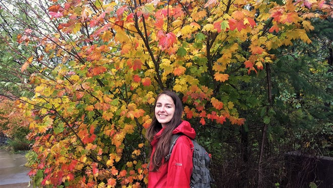 Natalía Spitha is a 26-year-old international student from Greece at UW-Madison.