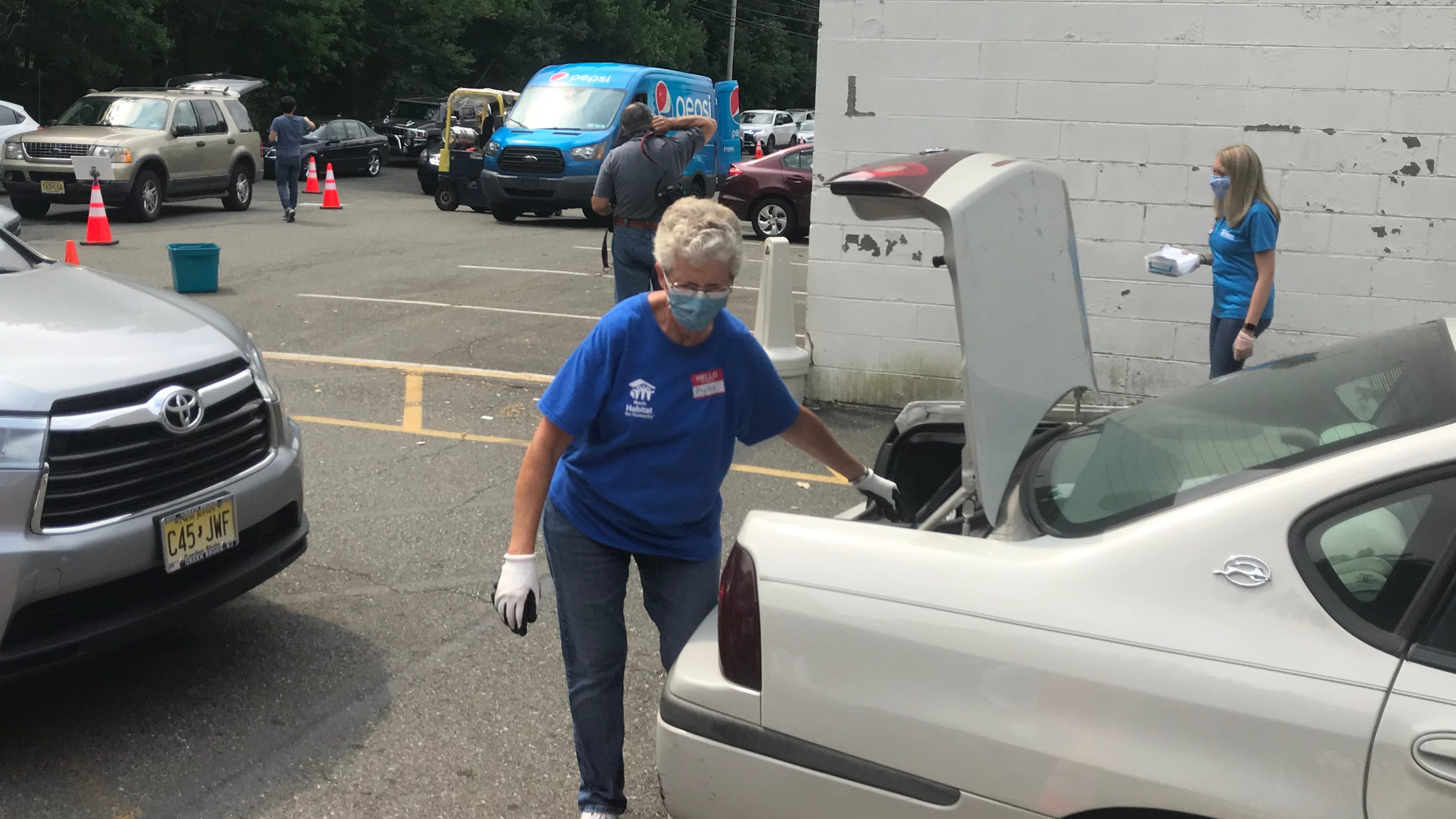 'A wake-up call': Morris County volunteers find high demand for food donations