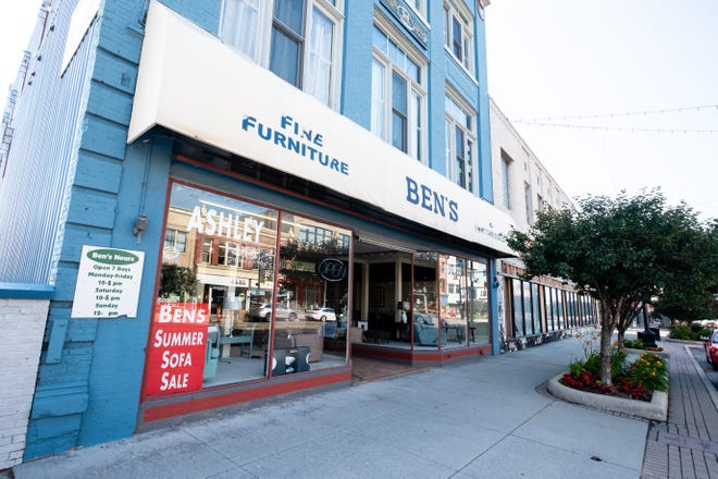 Ben's Lofts is listed for sale for $1,750,000 in downtown Port Huron. The building houses 11 lofts that are fully leased and Ben's Fine Furniture & Mattresses.