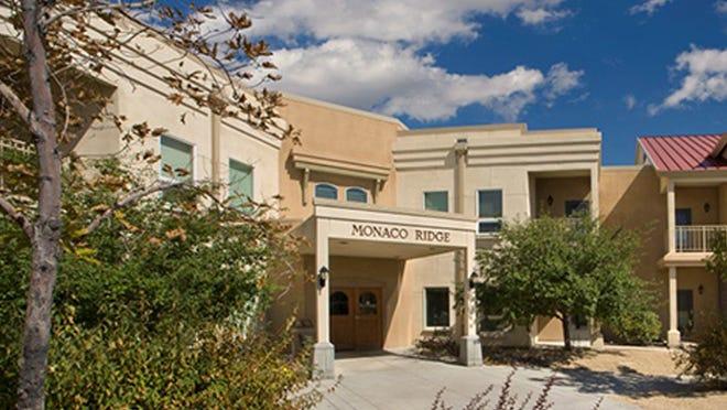 Renown Health's Monaco Ridge assisted living facility in South Reno.