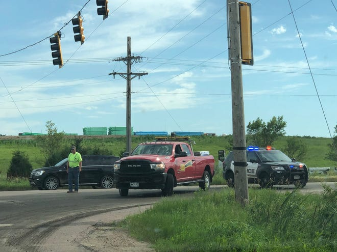 Authorities responded to a report of a semi truck crash involving a pedestrian around 4:30 p.m. on Highway 42 just west of the 12th Street and Ellis Road intersection.