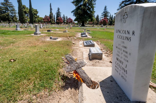 A former Tulare Cemetery employee is suing the district after he claims he was retaliated against for objecting to a disinterment that hadn't been approved by the deceased individual's family.