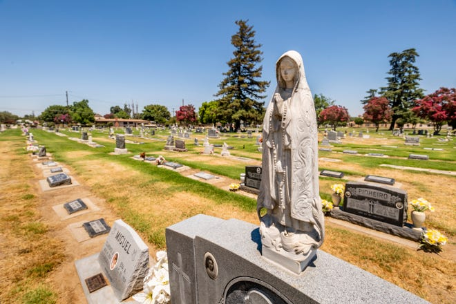 The Tulare Cemetery office is closed and all burials this week were canceled after an employee tested positive for COVID-19. The gates on the City's two cemeteries will remain open for visitors.