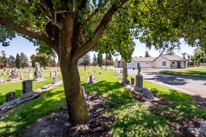 A 52-year-old man was stabbed to death in the Tulare Cemetery on Monday, March 1, 2021.