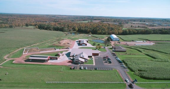 Northcentral Technical College Agriculture Center of Excellence in Wausau.