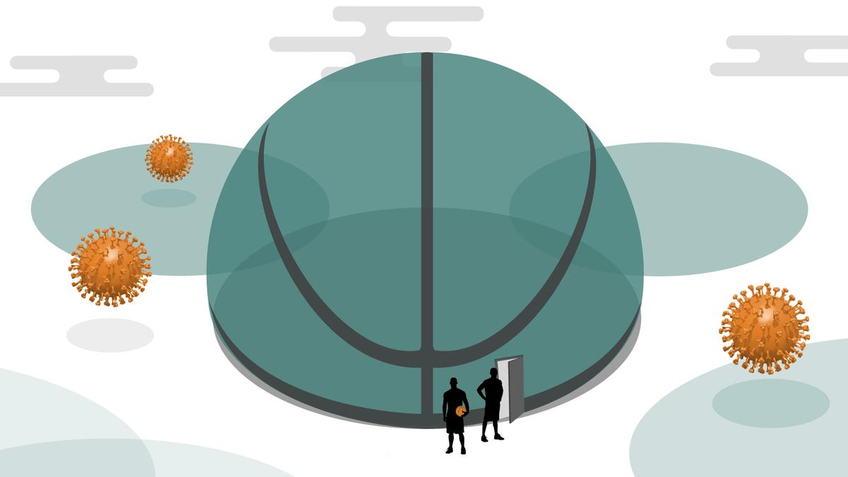 How the NBA bubble has taken shape in Disney World