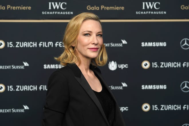 """Cate Blanchett, who is best known for her Oscar-winning roles in """"Blue Jasmine"""" and """"The Aviator."""""""