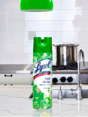 Lysol disinfectant spray was tested by the EPA, which found it was able to kill the coronavirus on surfaces.