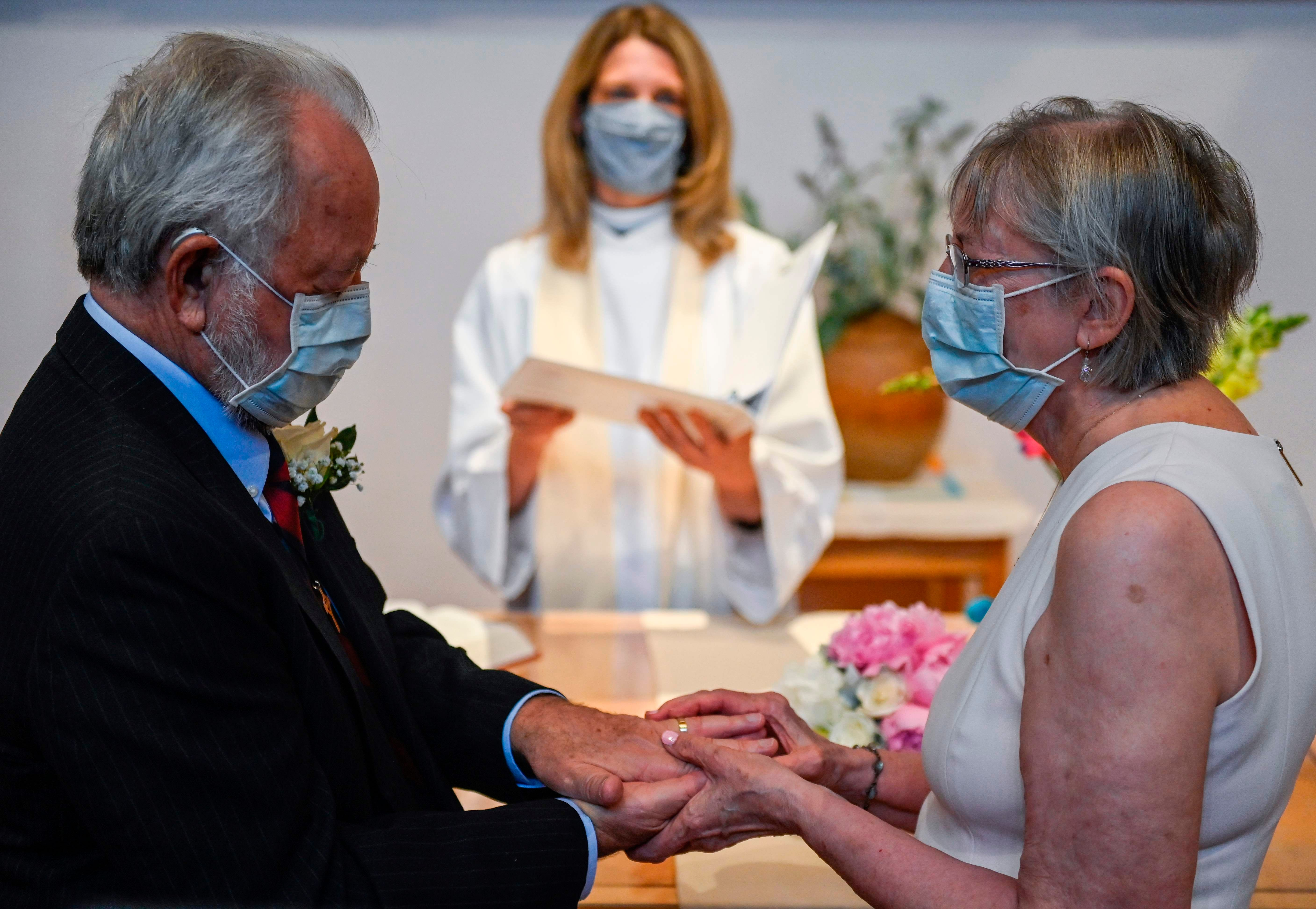 Spread love not germs: Sanitizer favors, disjointed seating and more planned for 2020 weddings