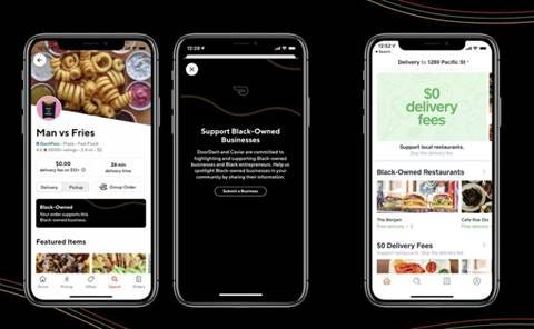 DoorDash has a new initiative for Black-owned businesses.