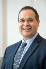 Dr. David Brown, Michigan Medicine's associate vice president and associate dean for health equity and inclusion. He also is an otolaryngologist.