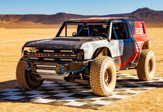2019 Ford Bronco R, Baja racer