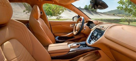 The Aston Martin DBX.