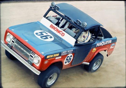 1969 Ford Bronco Baja 1000 winner
