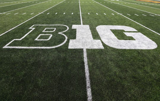The Big Ten will play conference games only in fall sports this year.