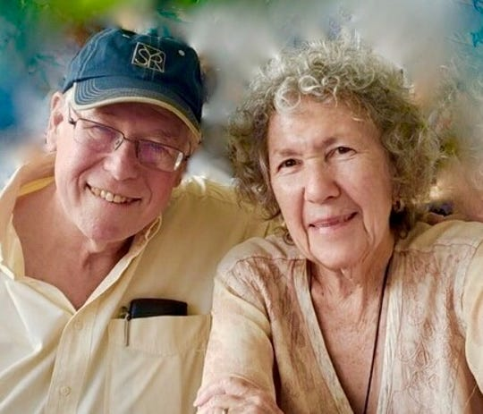 """Detroit native Bruce Joel Rubin and his wife of 51 years, Blanche. Rubin won the Oscar for Best Original Screenplay for the movie """"Ghost,"""" which celebrates 30 years this year."""
