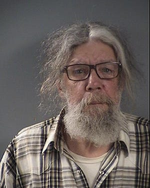 Ronal A. Rarey, 68, is accused of a hate crime assault after police say he assaulted someone at 820 Cross Park Avenue with a knife on July 9, 2020, in Iowa City.