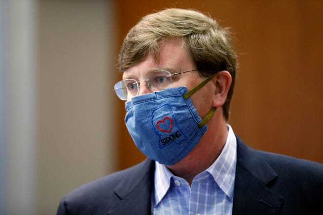 Gov. Tate Reeves was questioned about the coronavirus on CBS' Face the Nation on Sunday morning.