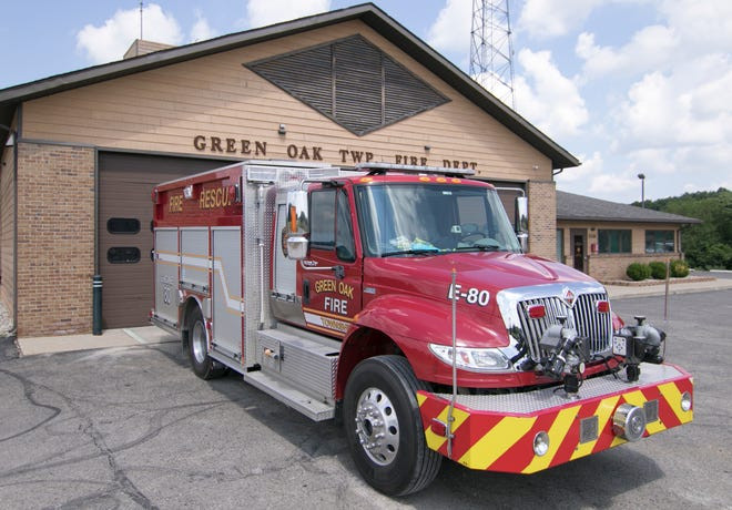 Green Oak Township Fire Authority is asking voters to extend a fire department millage. Station 81 is shown Thursday, July 9, 2020.