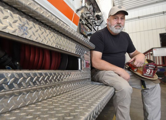 Chris Niswander is retiring after nearly 30 years in the fire service. He has been chief in Madison and Monroe townships and also served at Mifflin Township.