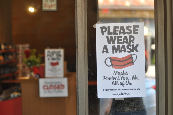 Colectivo asks that customers use a mask at its Shorewood cafe. The village of Shorewood now requires a mask in all buildings open to the public.