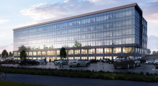 Milliman Inc. is the anchor tenant for a new office building to be developed at The Corridor site in Brookfield.
