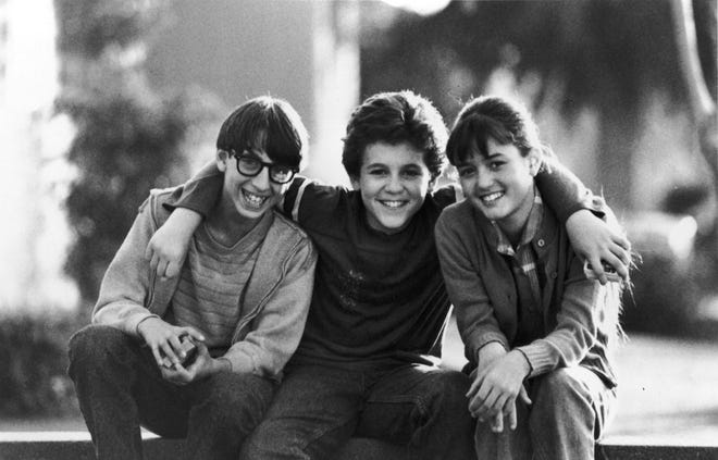 Josh Saviano, Fred Savage and Danica McKellar from 'The Wonder Years.'