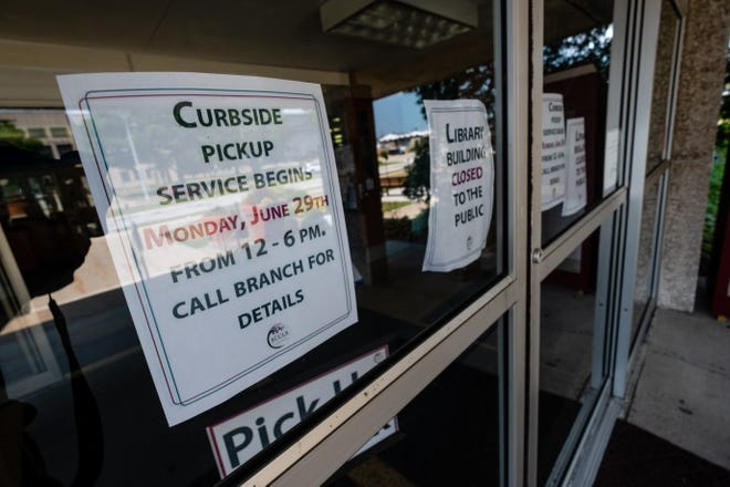 The St. Clair County Library System has started offering curbside pickup.